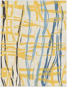 moderne Wandbekleidung / Motiv / Wolle / Leinen