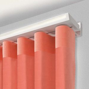 Vorhangschiene für Deckenmontage / zur Wandbefestigung / mit Leinenbetätigung / mit manueller Bedienung