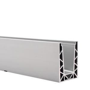 Aluminium-Befestigungssystem / für Innenausbau / für Fassaden / für Glasfassade