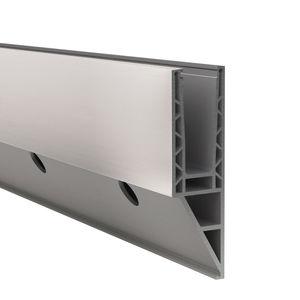 Aluminium-Befestigungssystem / für Platten / für Geländer / Außen