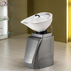 freistehendes Waschbecken / Polyethylen / modern / für Frisörsalon