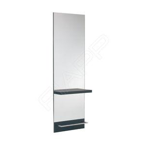 moderner Schminktisch / Edelstahl / Laminat / Aluminium