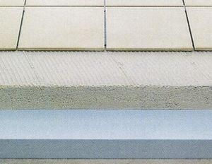 thermo-akustische Isolierung / aus XPS / für Dächer / steife Platten