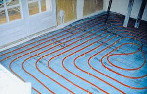 thermische Isolierung / aus XPS / für Fußbodenheizung / in Plattenform