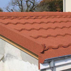Stahl-Dachziegel