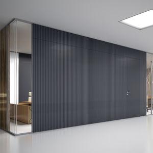 abnehmbare Trennwand / Verbundwerkstoff / zur beruflichen Nutzung / Büro