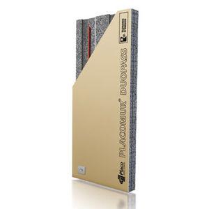 hochleistungsfähiger Wärmedämmungskomplex / Kern aus PE-Schaum / Deckschicht aus Gipskartonplatte / für Wände