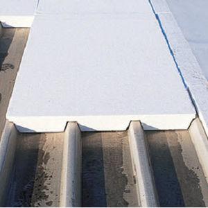 thermische Isolierung / aus Polystyrolschaum / für Dachterrasse / für Metalldach