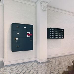 wandmontierter Briefkasten / Einbau / bodenstehend / kollektiv