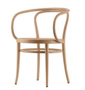klassischer Stuhl / Polster / mit Armlehnen / Stoff