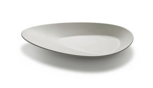 Service-Teller / oval / Melamin / Objektmöbel