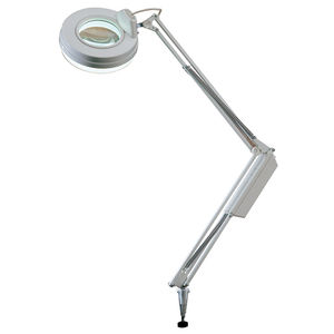 Tischlampe / modern / Metall / regelbar