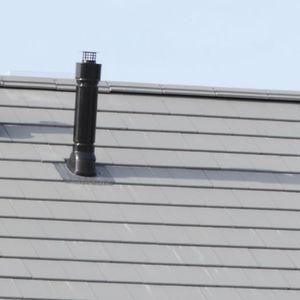 Ton-Rauchrohr / komplettes System