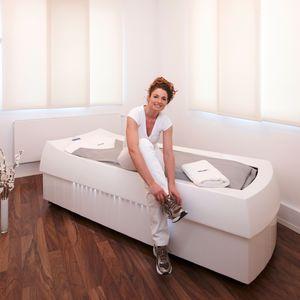 Massage-Wasserbett / Chromotherapie