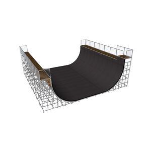 Mini Rampe / für Skatepark