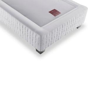 Doppelbett-Bettrost / Taschenfederkern / gepolstert / für Privatgebrauch