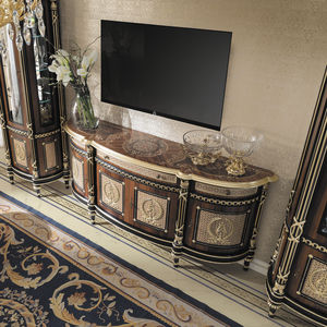 Stil-Sideboard / Massivholz / für Hotels