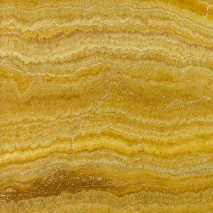 Travertin-Steinplatte / poliert / gebürstet / scharriert