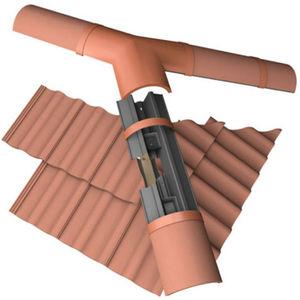 gebogenes Dachsystem / Metallprofil / Objektmöbel