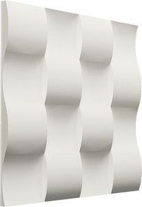 Faserbeton-Dekorplatte / wandmontiert / für Fuß- und Feuchträume / feuerfest