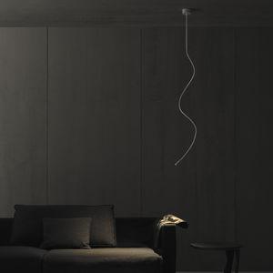 minimalistische Deckenleuchte / Messing / Eisen / LED