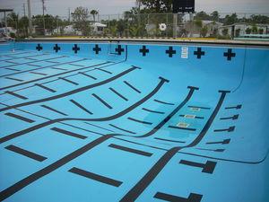 Folie für Schwimmbecken / PVC / für Aufstellbecken / für Schwimmbäder / für eingelassenes Schwimmbad