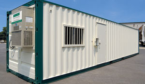 Baucontainer für industrielle Nutzung / für Büro / für Lagerung / für Baustellen