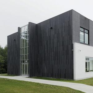 Verkleidungspaneel / Faserbeton / Glasfaser / für Fassaden