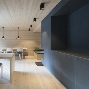 Beton-Dekorplatte / Glasfaser / aus Naturfaser / wandmontiert