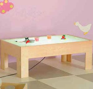 moderner Spieltisch für Kinder