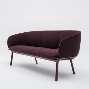 kompaktes Sofa / modern / Stoff / pulverbeschichteter Stahl