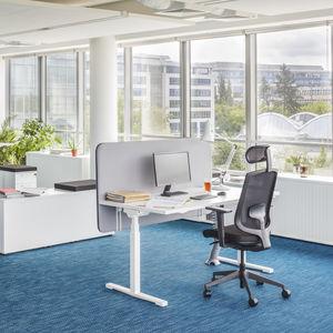 Schreibtisch für Open Space / Melamin / modern / für Büro