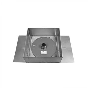 Boxsystem zur Regenwasserversickerung für Gründach
