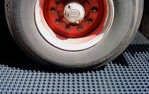ABS-Dränageplatte