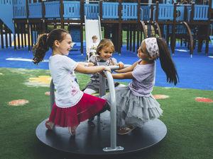 Spielplatz-Drehgerät / Kinder / für Spielplätze