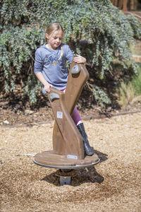 Spielplatz-Drehgerät / Kinder