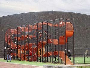 Spielplatzgerät für Spielplätze / Metall