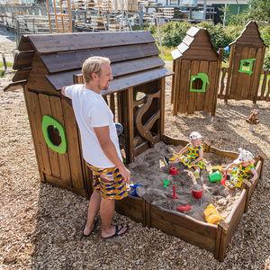 Innenraum-Spielhaus / für den Außenbereich