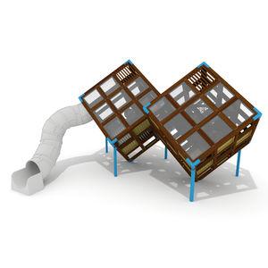 Spielplatzgerät für Spielplätze / für öffentliche Einrichtungen / Holz / HPL
