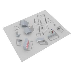 Trimm-Dich-Pfad / für Spielplätze
