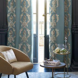 Uni-Vorhang / Motiv / Barock / Blumenmotive
