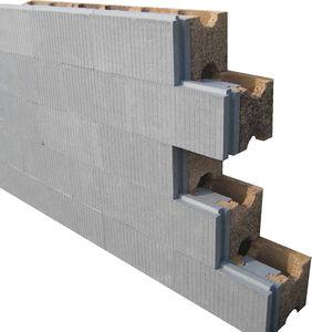 Holzbetonschalungsstein / für Wände / dämmend