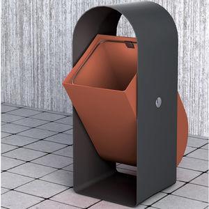 Park-Abfallbehälter / Metall / modern / für öffentliche Bereiche