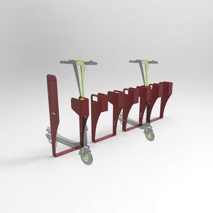 Rollerständer / verzinkter Stahl