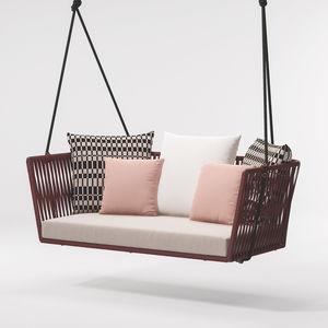 Garten-Hollywood-Schaukel / Kordel / Aluminium / für Hotels / für Restaurants