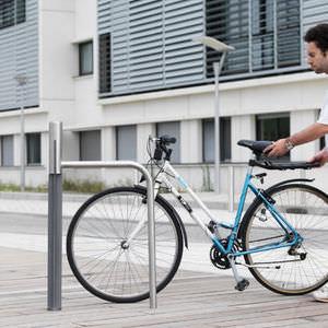 Edelstahl-Fahrradständer / Gusseisen / für öffentliche Bereiche