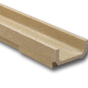 Polymerbeton-Abflussrinne / Edelstahl / verzinkter Stahl / Gusseisen