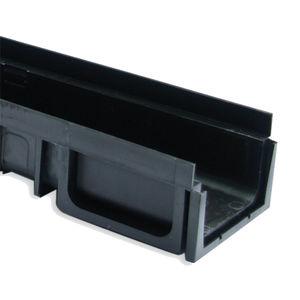 Edelstahl-Abflussrinne / verzinkter Stahl / Gusseisen / Polypropylen