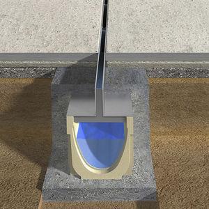Entwässerungsgitter / verzinkter Stahl