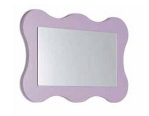 wandmontierter Spiegel / für Kinder / modern / rechteckig